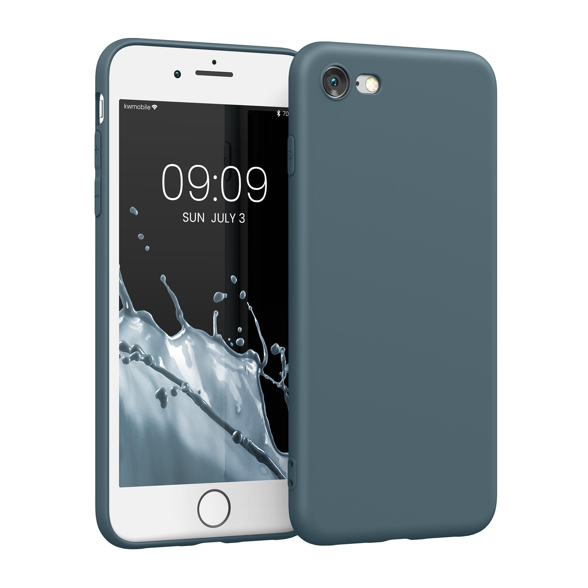 Kvalitní silikonové TPU pouzdro pro Apple iPhone 7 / 8 / SE  - Šedá břidlice