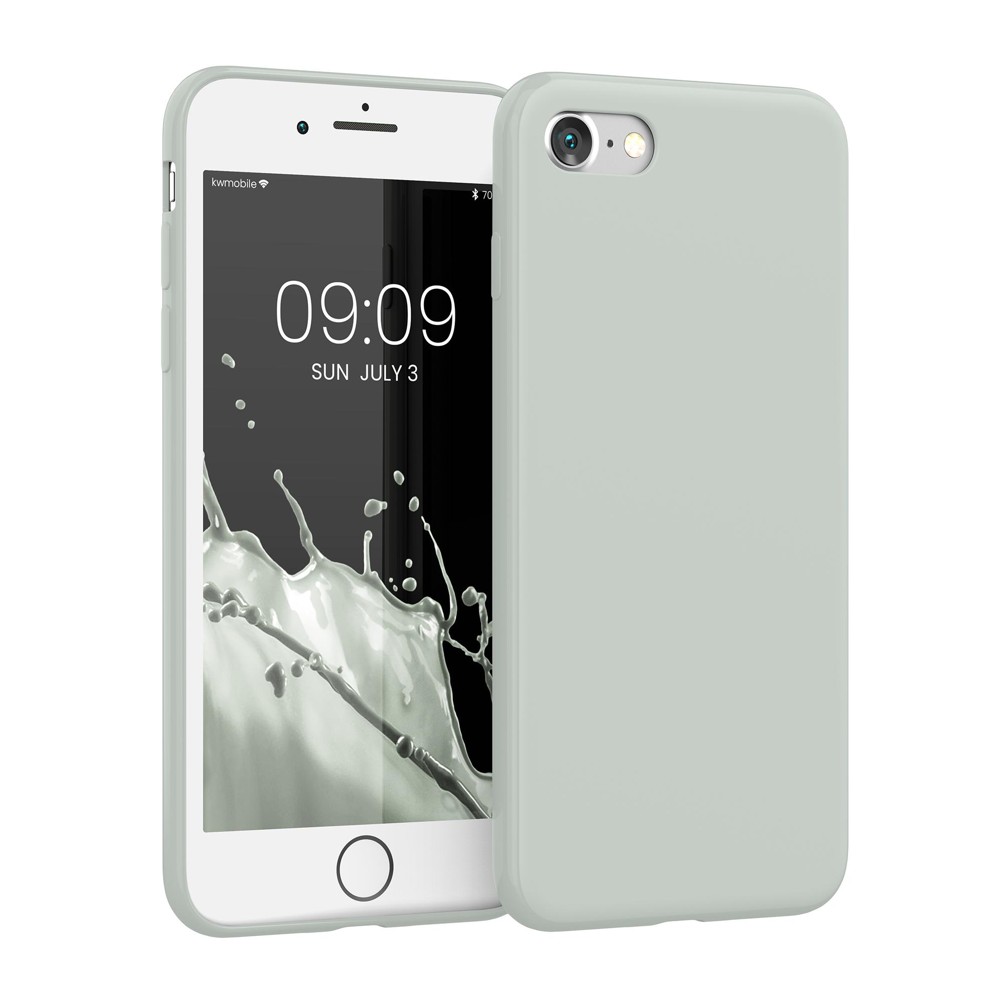 Kvalitní silikonové TPU pouzdro pro Apple iPhone 7 / 8 / SE  - Šedá