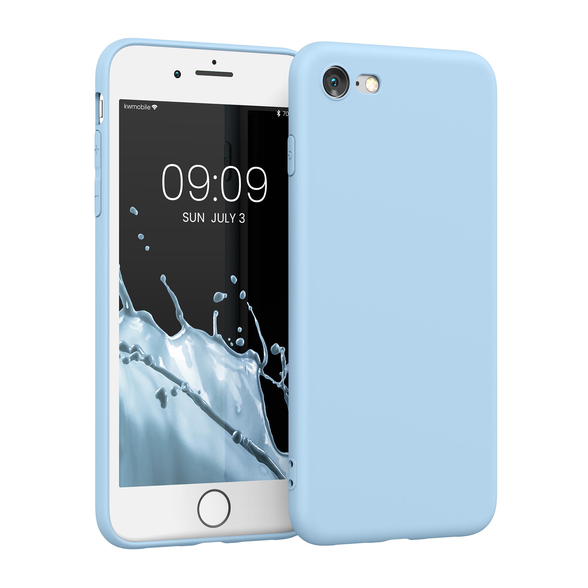 AKCE IHNED! Silikonové TPU pouzdro pro Apple iPhone 7 / 8 / SE  Light Blue Matte