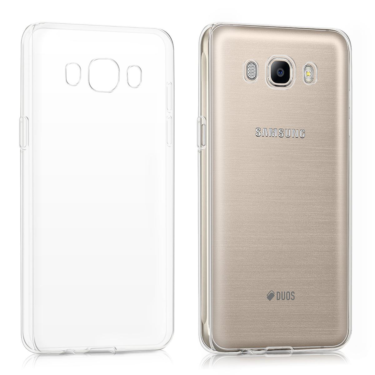 Kvalitní silikonové TPU pouzdro pro Samsung J5 (2016) DUOS - průhledné
