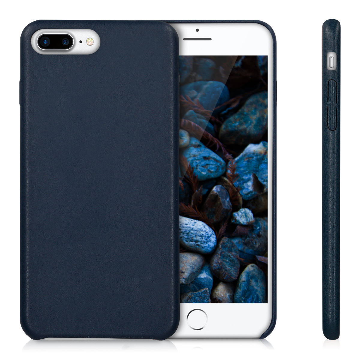 kwmobile-FUNDA-BLANDA-PARA-APPLE-IPHONE-7-PLUS-8-PLUS-CUERO-SINTETICO-CARCASA