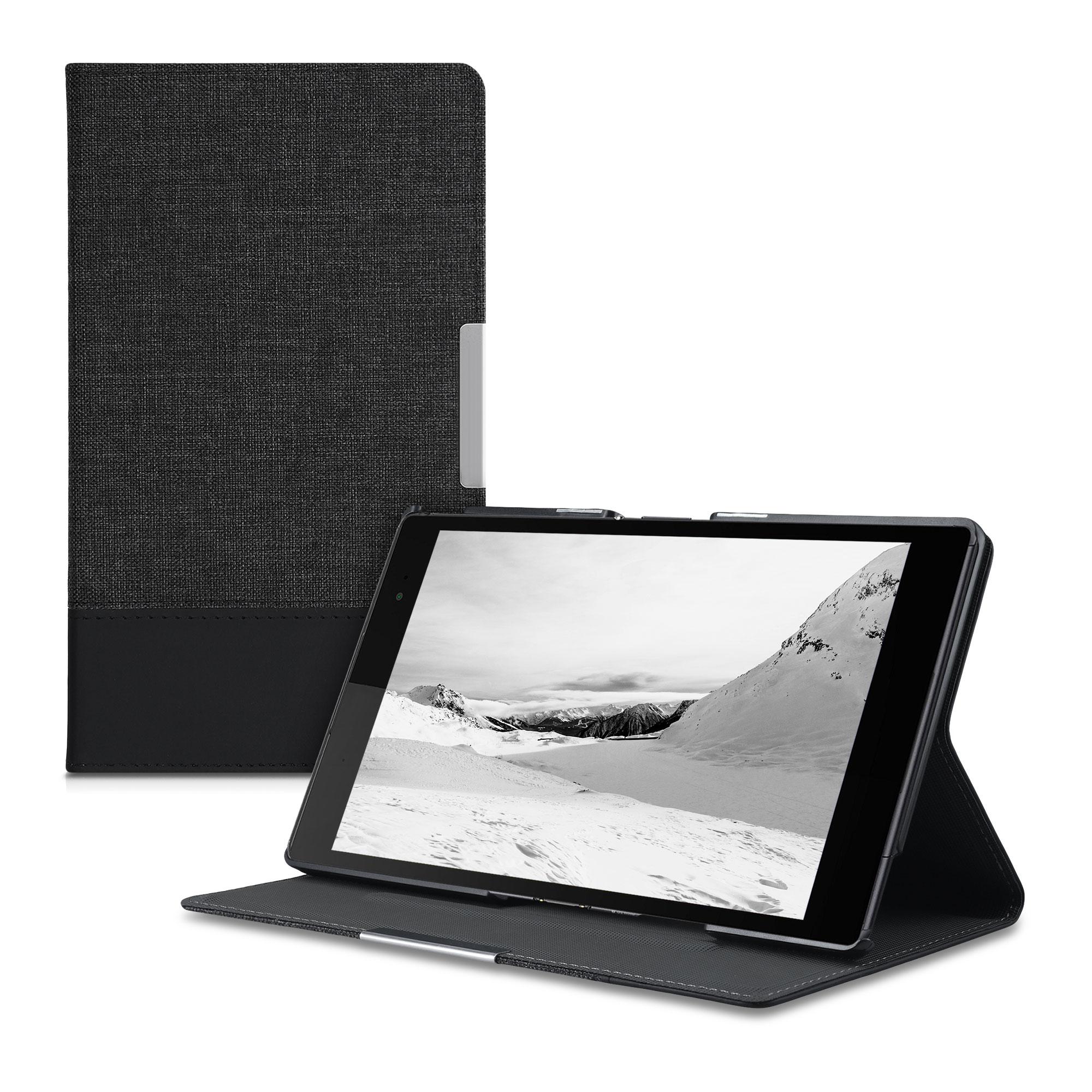 CanvasLinenpouzdro | obal pro Sony Xperia Tablet Z3 Compact - Anthracite / černé