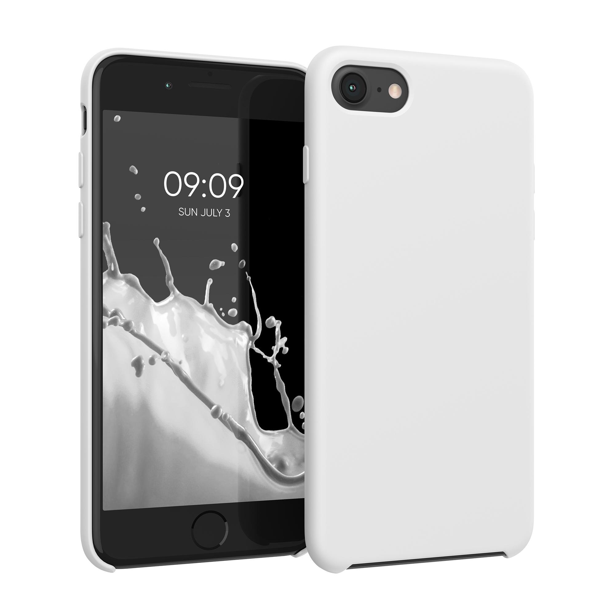 Kvalitní silikonové TPU pouzdro pro Apple iPhone 7 / 8 / SE  - Bílý