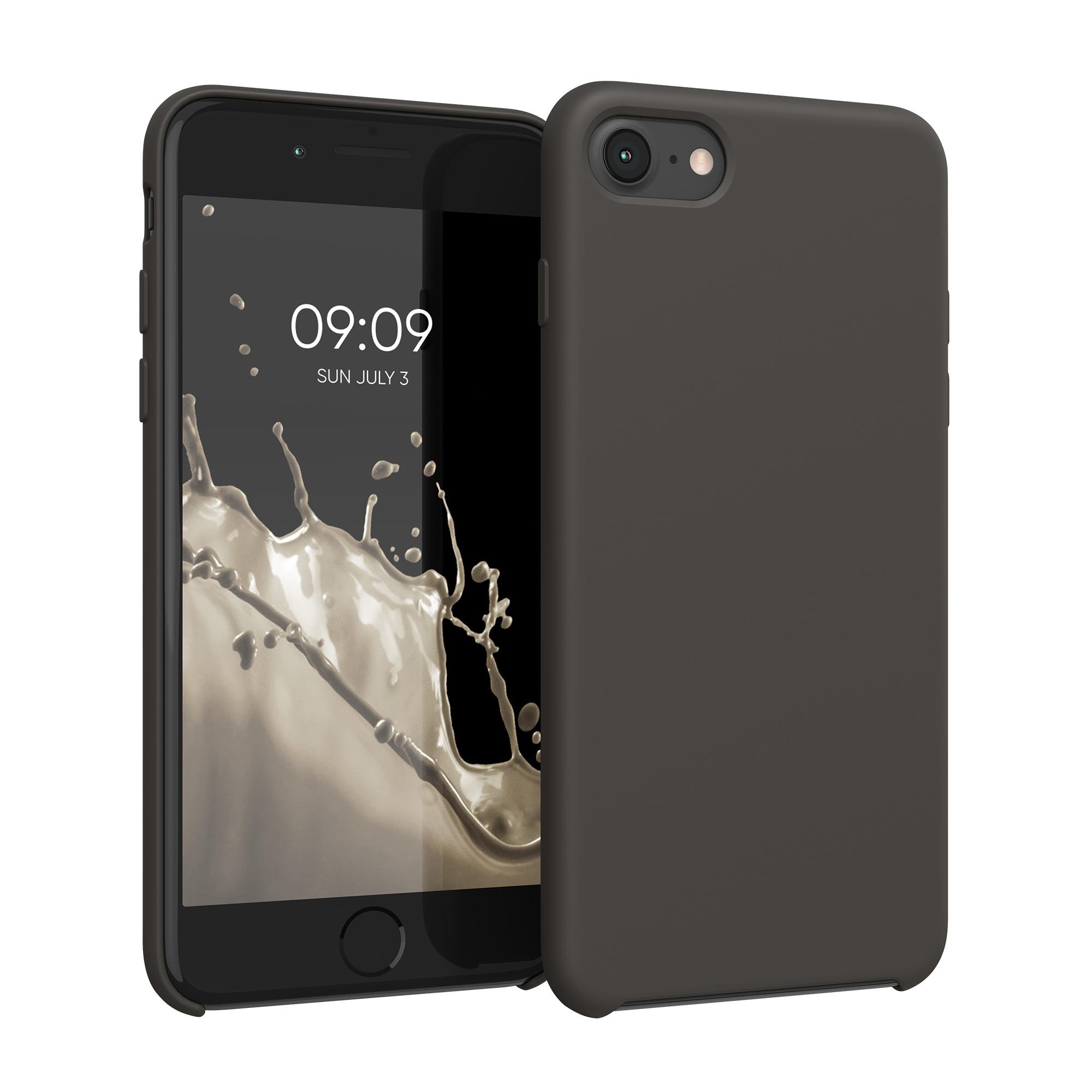 Kvalitní silikonové TPU pouzdro pro Apple iPhone 7 / 8 / SE  - Olive Green Matte