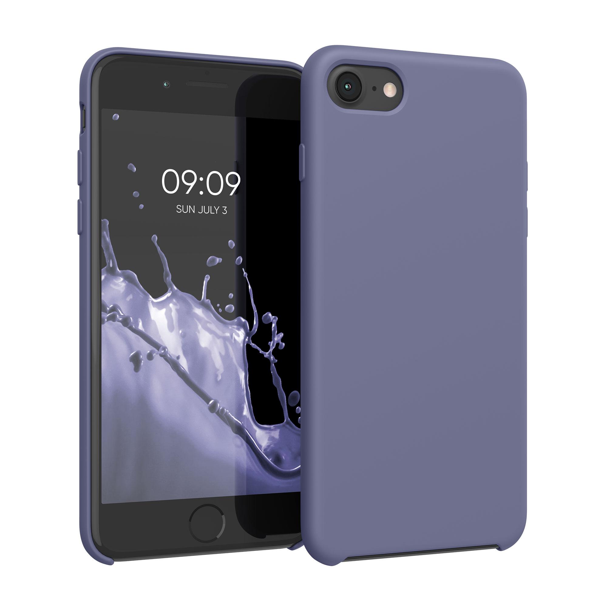 Kvalitní silikonové TPU pouzdro pro Apple iPhone 7 / 8 / SE  - Lavender Gray