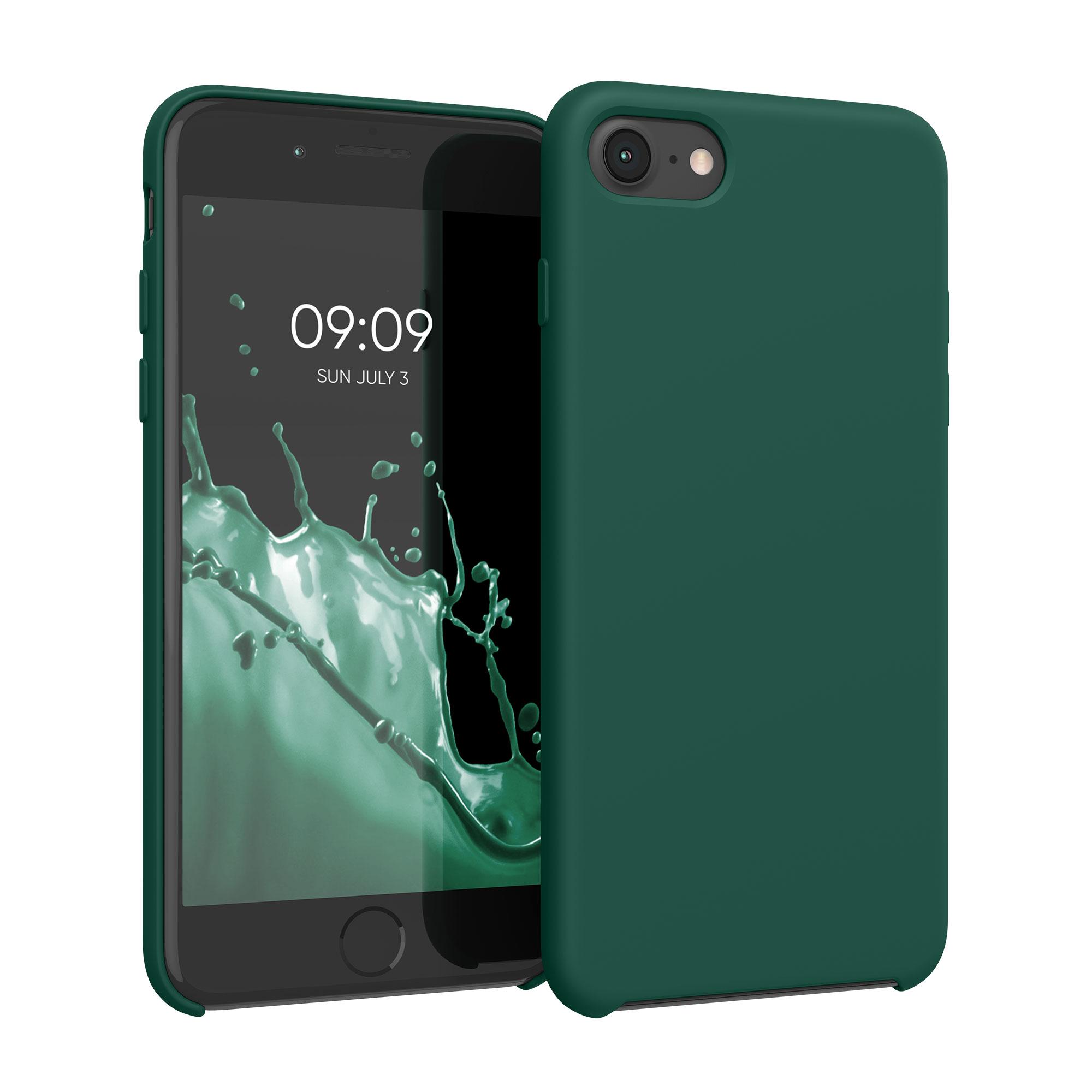 Kvalitní silikonové TPU pouzdro pro Apple iPhone 7 / 8 / SE  - Turquoise Green