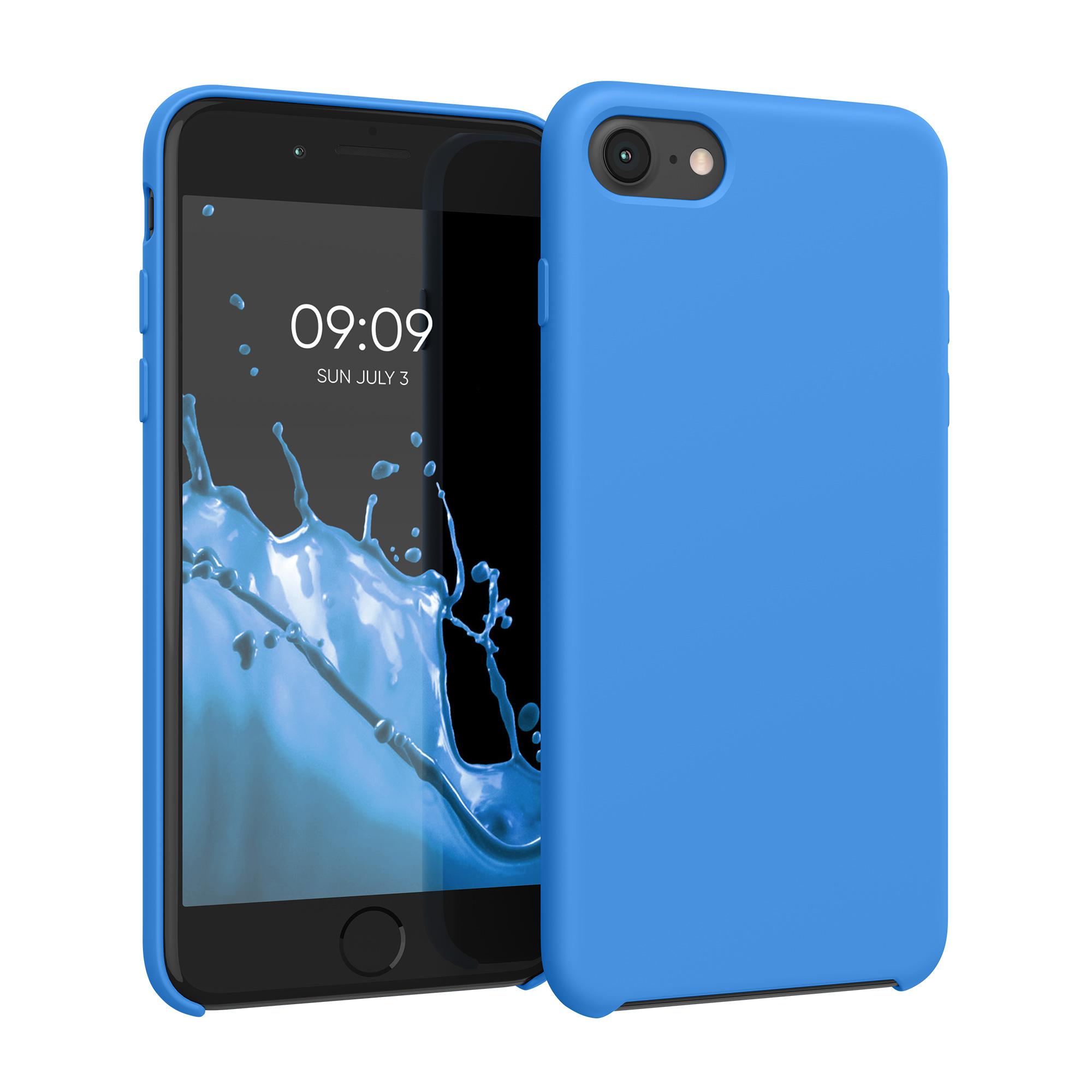 Kvalitní silikonové TPU pouzdro pro Apple iPhone 7 / 8 / SE  - Surf modré