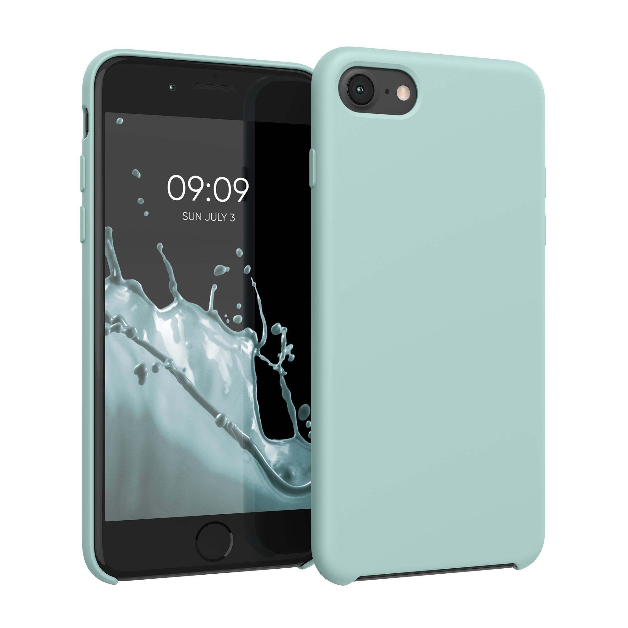 Kvalitní silikonové TPU pouzdro pro Apple iPhone 7 / 8 / SE  - Máta