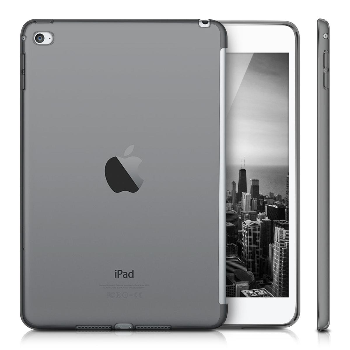 kwmobile silicone case for apple ipad mini 4 smartcover compatible tpu case ebay. Black Bedroom Furniture Sets. Home Design Ideas
