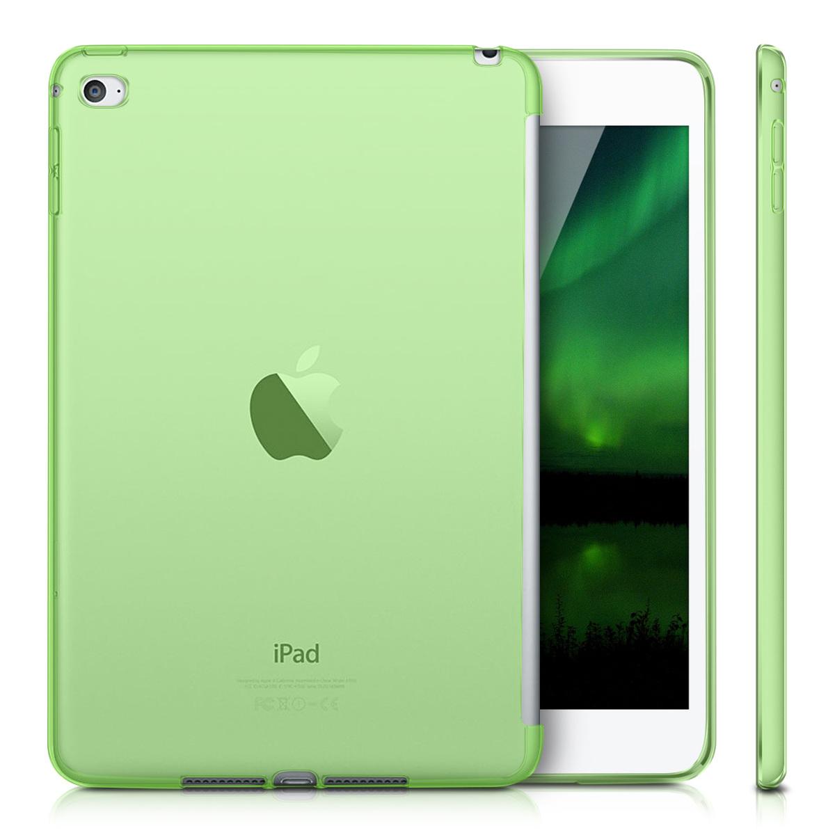 silicone case for apple ipad mini 4 smartcover compatible tpu case tablet cover ebay. Black Bedroom Furniture Sets. Home Design Ideas