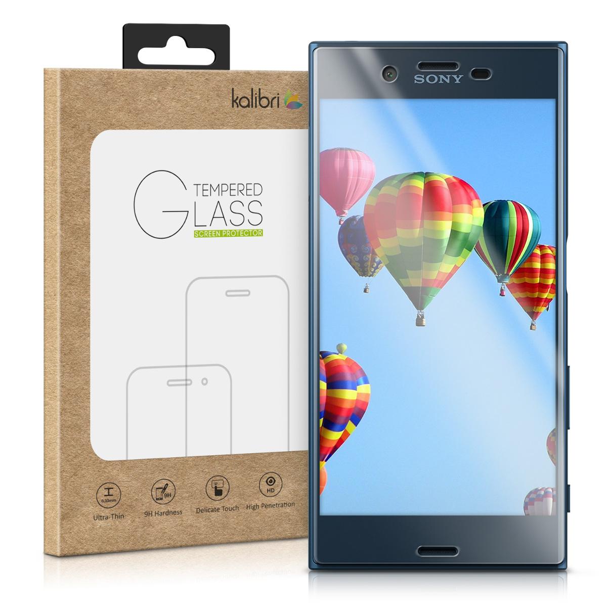 Skleněné pouzdro | obal pro Sony Xperia XZ / XZs - průhledné rámeček