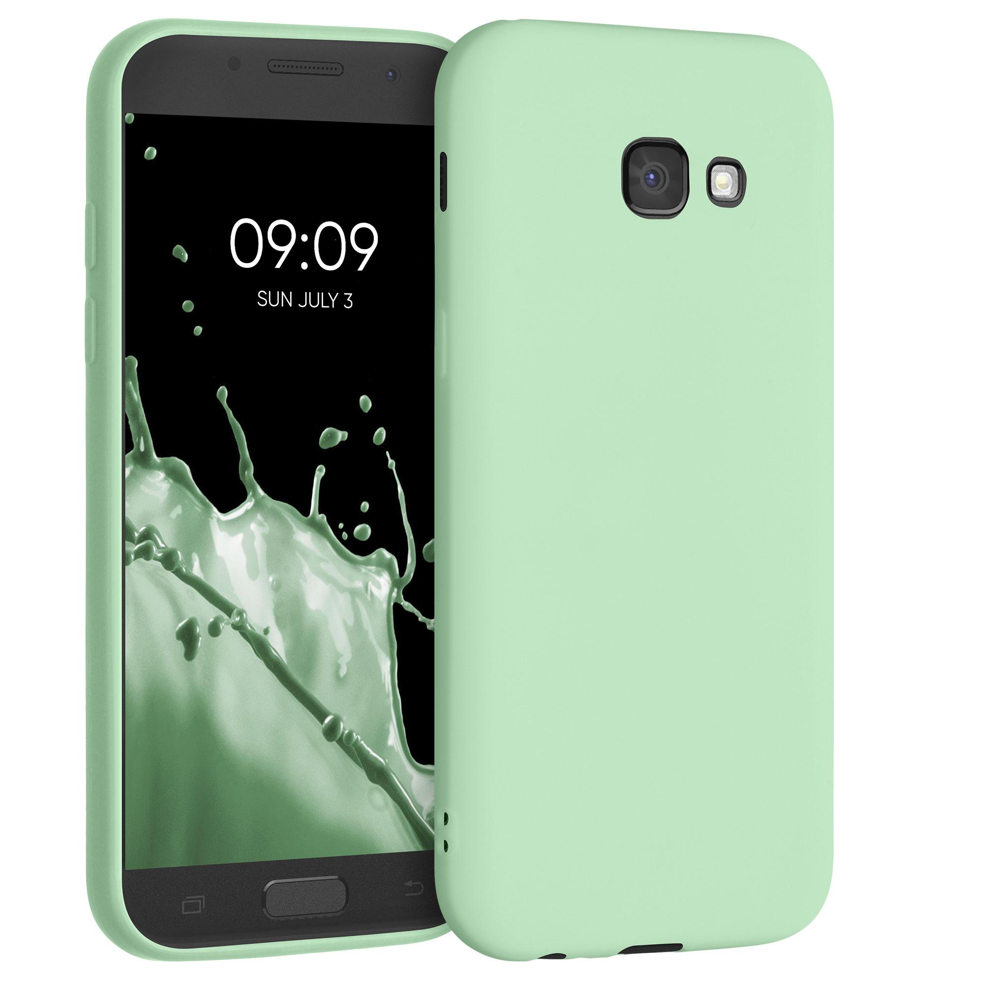 AKCE IHNED! Kvalitní silikonové TPU pouzdro pro Samsung A5 (2017) - mint zelené