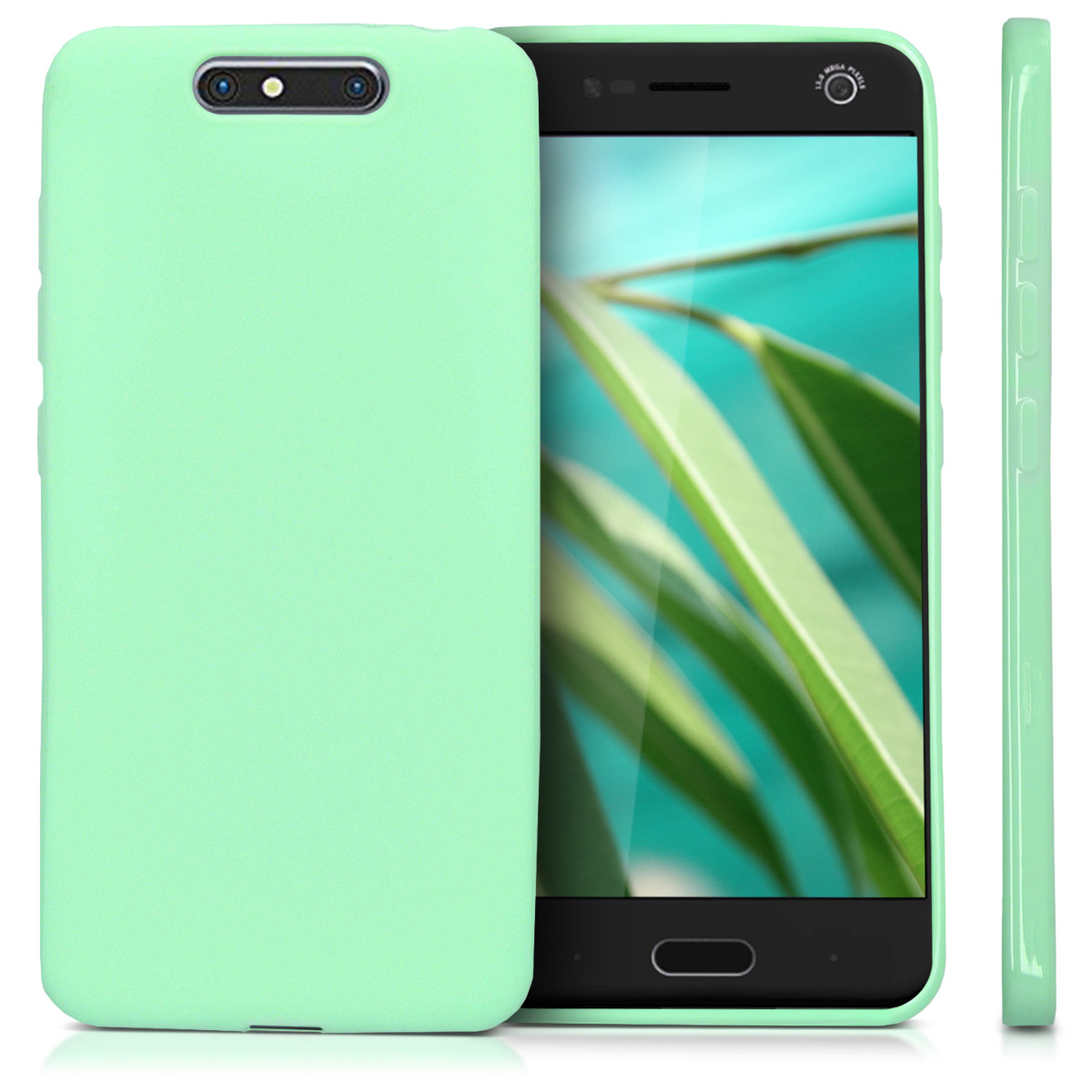 Kwmobile Tpu Silicone Cover For Zte Blade V8 Soft Case