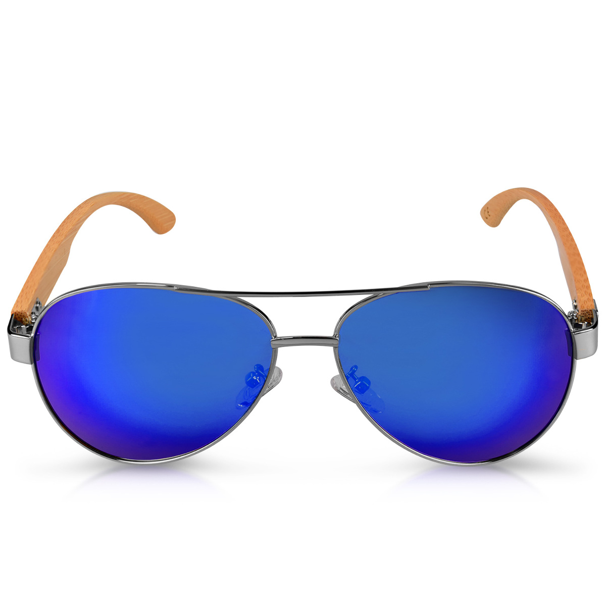 Gafas-de-sol-estilo-aviador-polarizadas-UV400-con-patillas-de-bambu