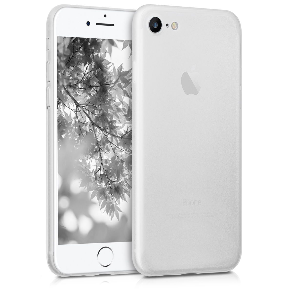 Kvalitní plastové pouzdro pro Apple iPhone 7 / 8 / SE  - Matte Transparent