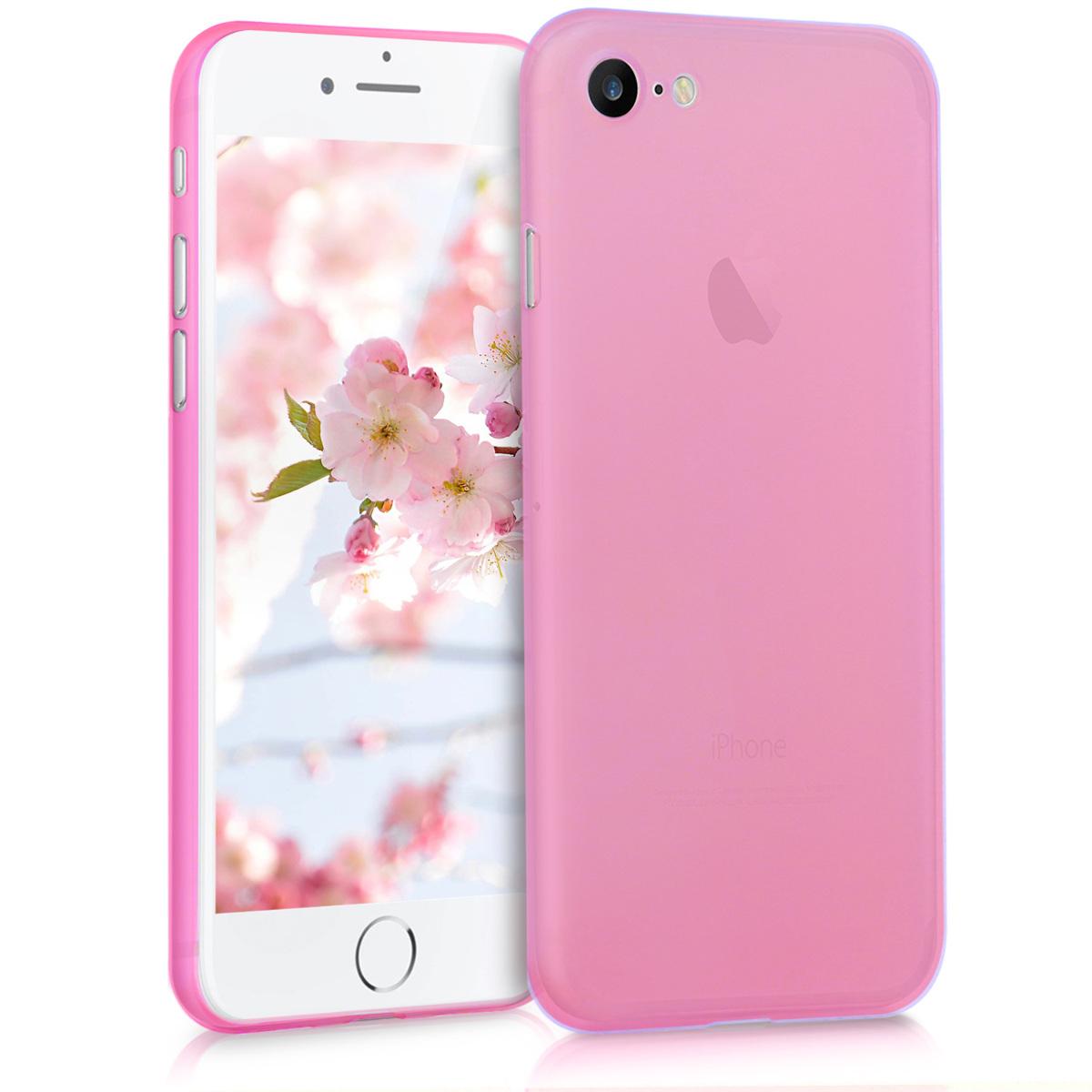 Kvalitní plastové pouzdro pro Apple iPhone 7 / 8 / SE  - Tmavě růžová