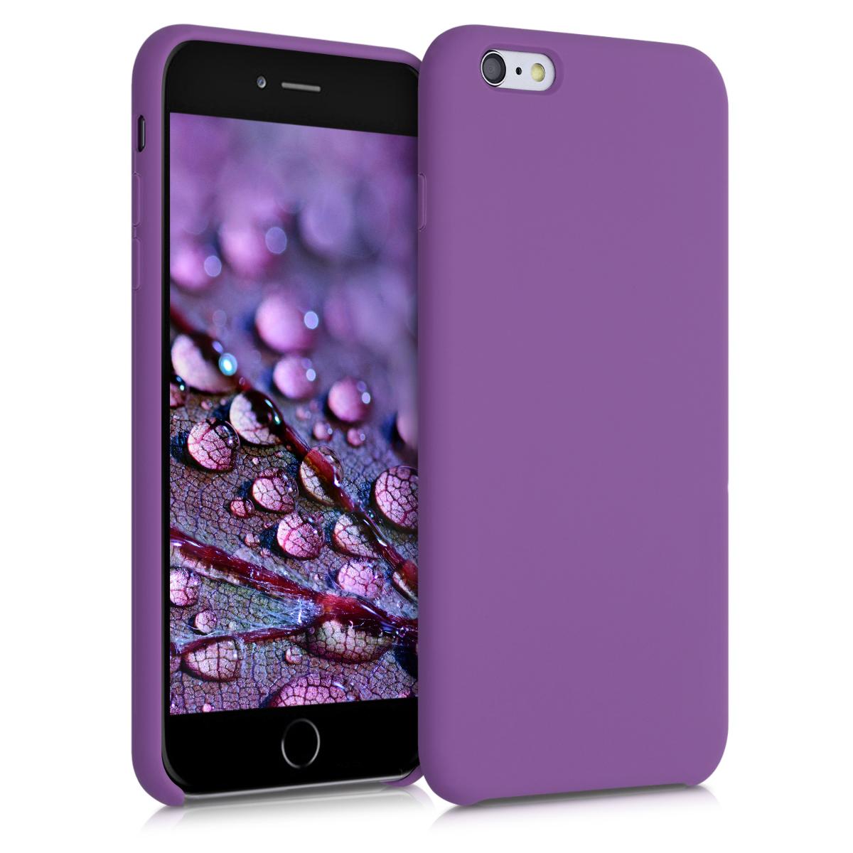 Kvalitní silikonové TPU pouzdro pro Apple iPhone 6 Plus / 6S - pastel Purple