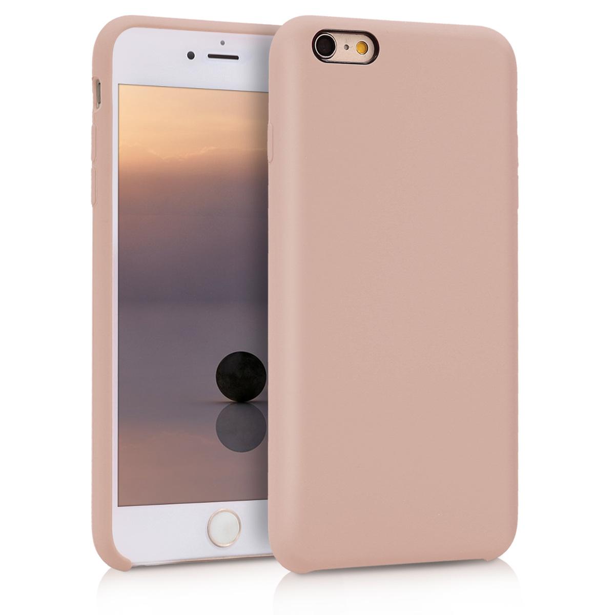 Kvalitní silikonové TPU pouzdro pro Apple iPhone 6 Plus / 6S - Dusty Pink