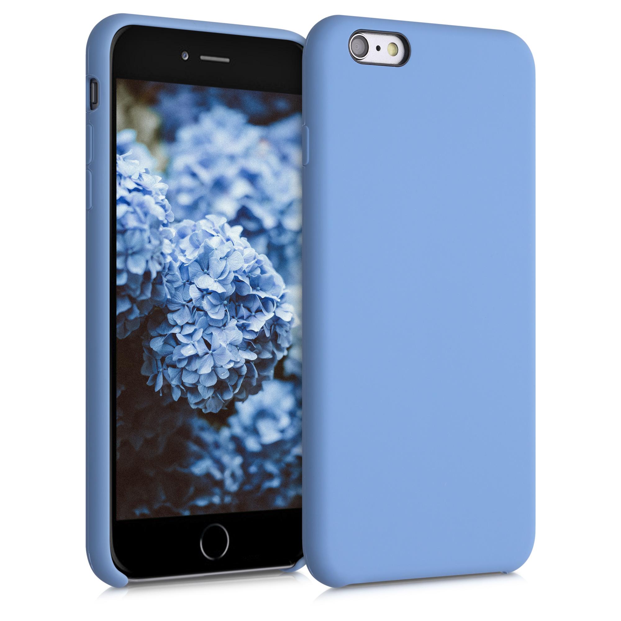 Kvalitní silikonové TPU pouzdro pro Apple iPhone 6 Plus / 6S - azurově modré