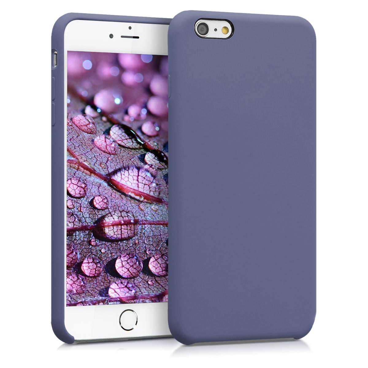 Kvalitní silikonové TPU pouzdro pro Apple iPhone 6 Plus / 6S - Lavender Gray