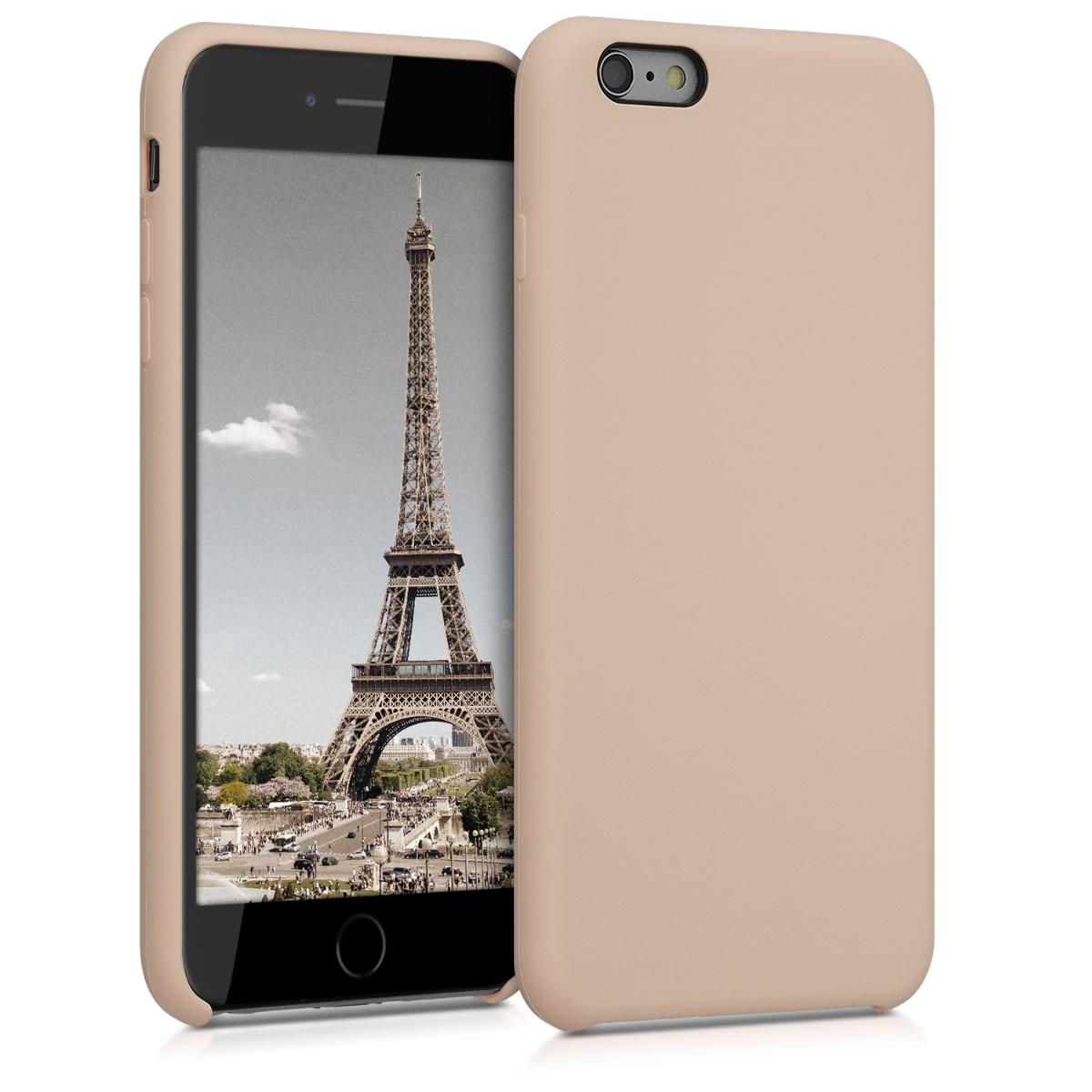 Kvalitní silikonové TPU pouzdro pro Apple iPhone 6 Plus / 6S - Perleť