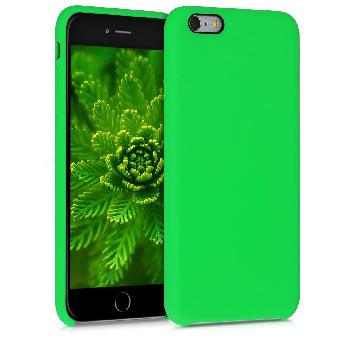 Kvalitní silikonové TPU pouzdro pro Apple iPhone 6 Plus / 6S - Limetkově zelená