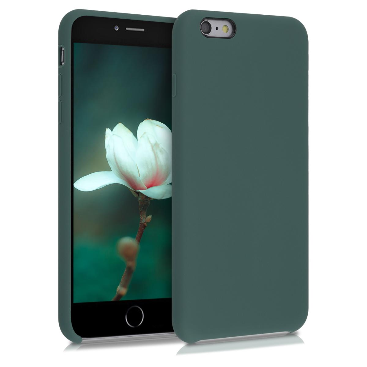 Kvalitní silikonové TPU pouzdro pro Apple iPhone 6 Plus / 6S - Modrá zelená