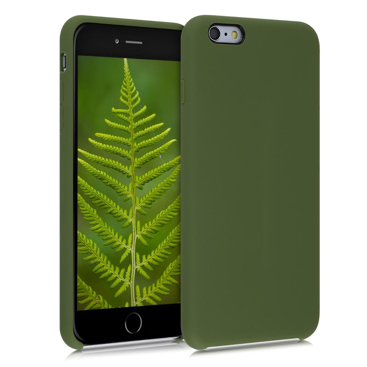 Kvalitní silikonové TPU pouzdro pro Apple iPhone 6 Plus / 6S - pesto Green