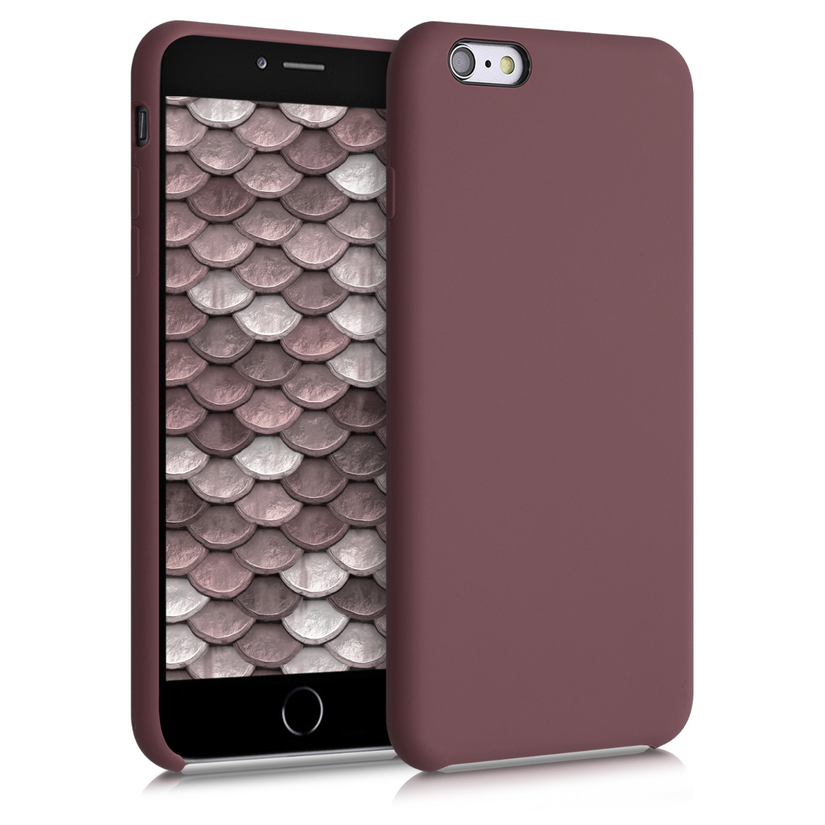 Kvalitní silikonové TPU pouzdro pro Apple iPhone 6 Plus / 6S - Švestka
