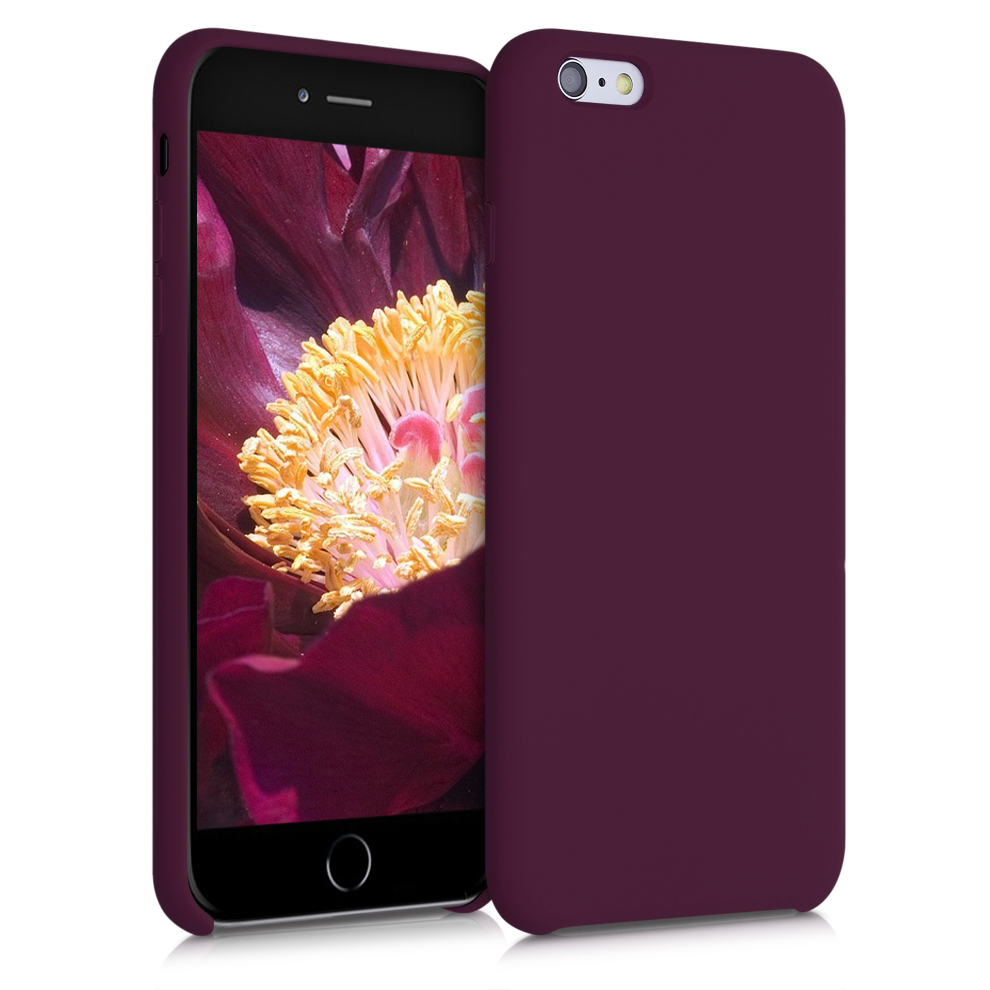 Kvalitní silikonové TPU pouzdro pro Apple iPhone 6 Plus / 6S - Bordeaux Violet