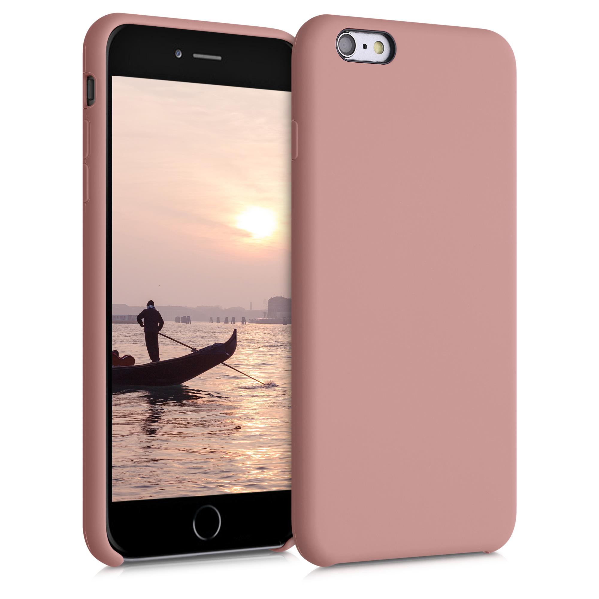 Kvalitní silikonové TPU pouzdro pro Apple iPhone 6 Plus / 6S - Rose Tan