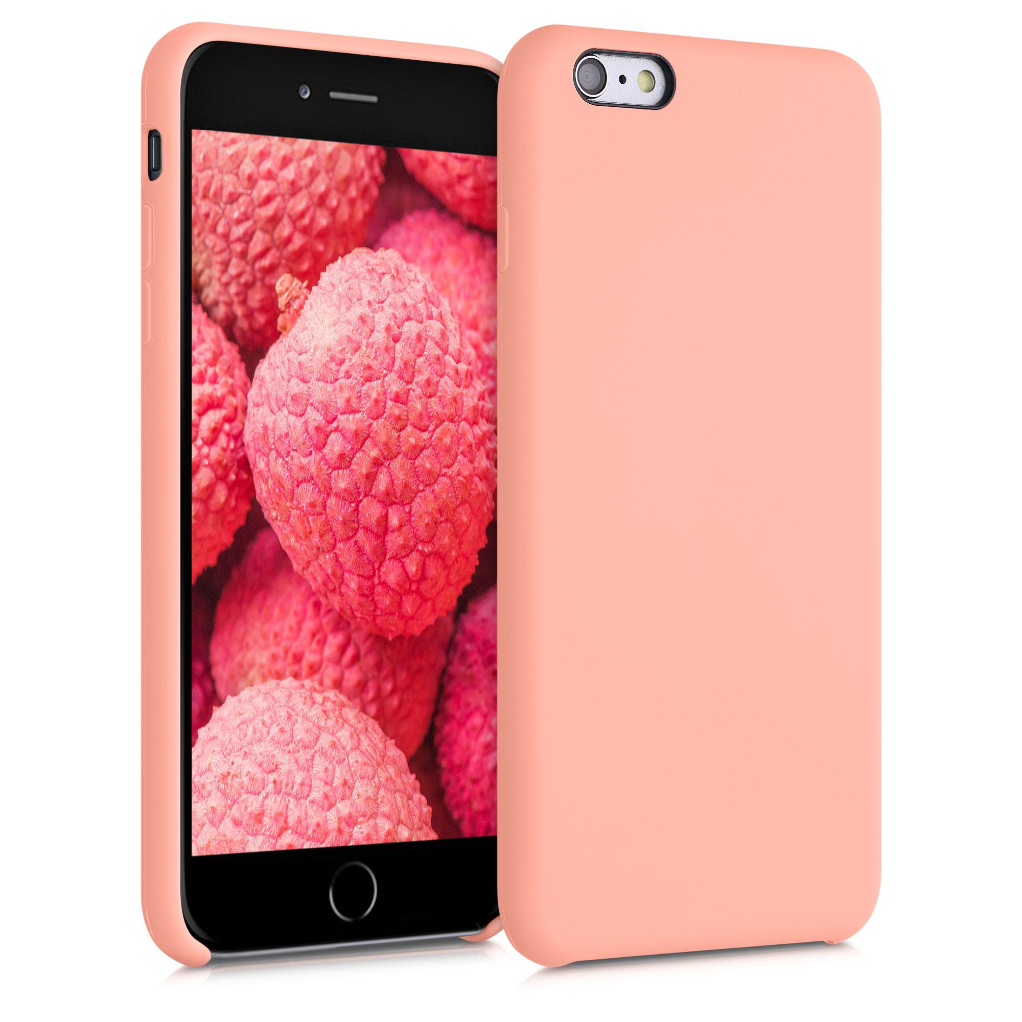 AKCE! Kvalitní silikonové TPU pouzdro pro Apple iPhone 6 Plus / 6S - Růžový