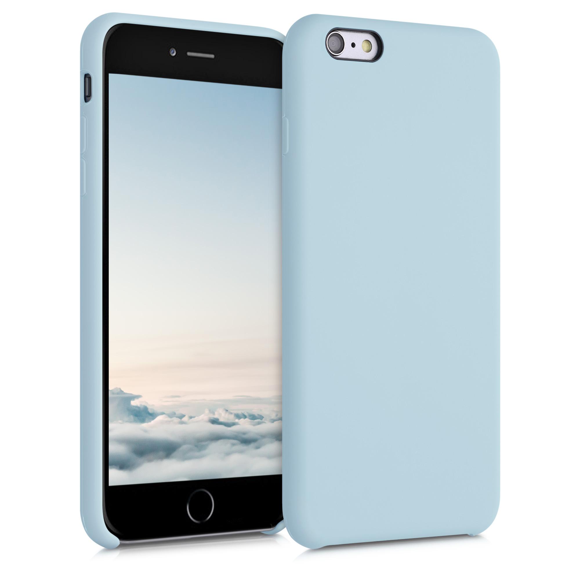 Kvalitní silikonové TPU pouzdro pro Apple iPhone 6 Plus / 6S - Frosty Mint
