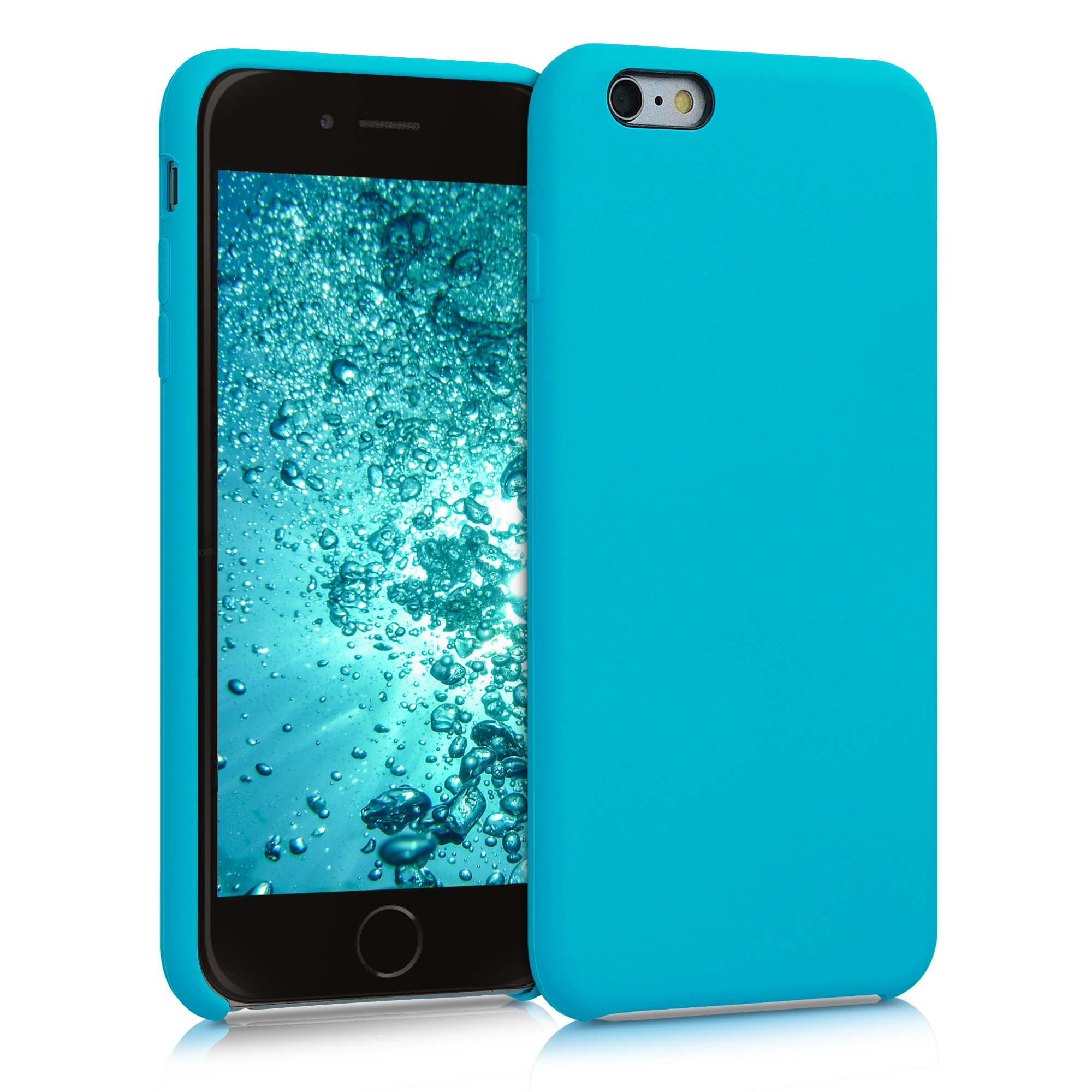 Kvalitní silikonové TPU pouzdro pro Apple iPhone 6 Plus / 6S - Ledová modř
