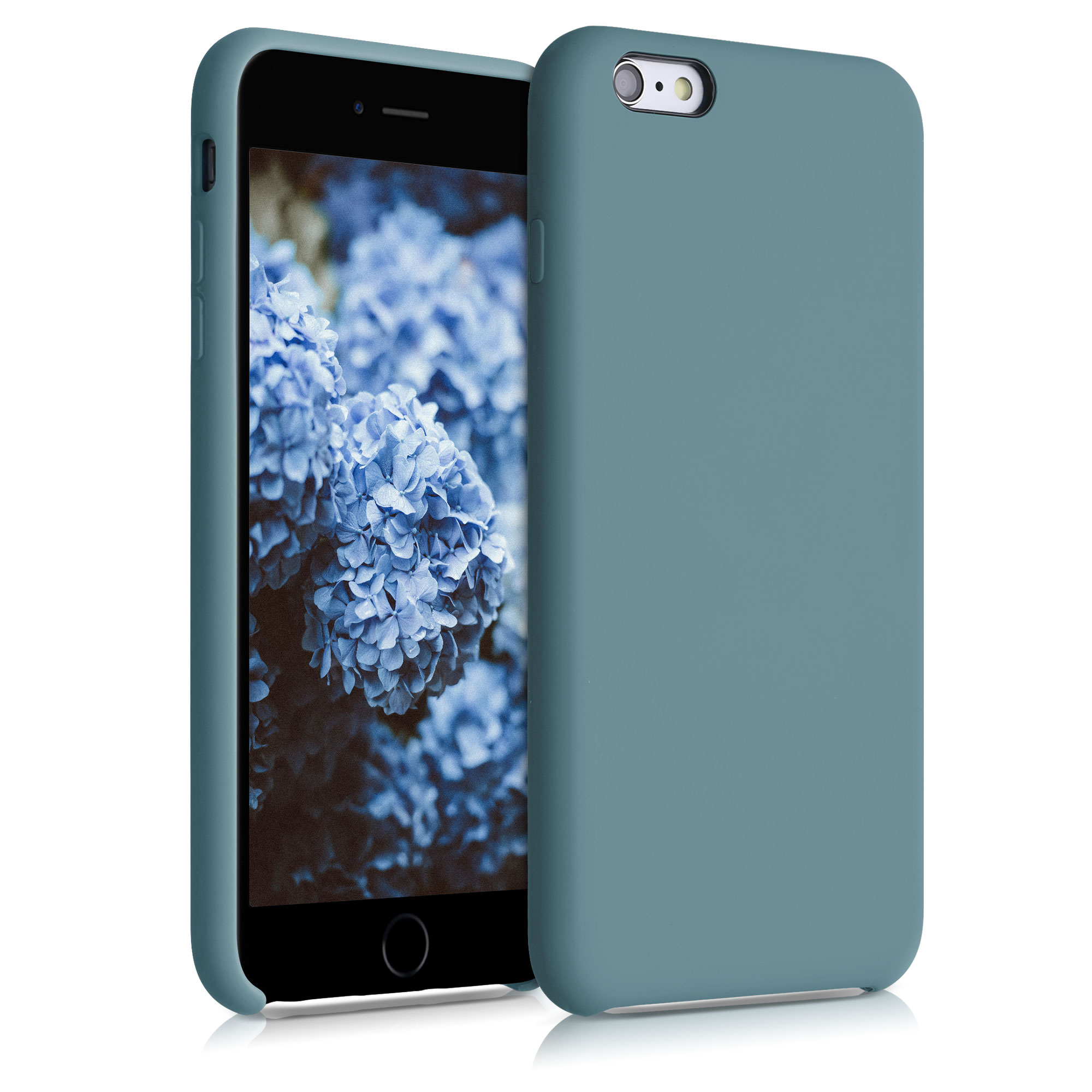 Kvalitní silikonové TPU pouzdro pro Apple iPhone 6 Plus / 6S - Arctic Modrá