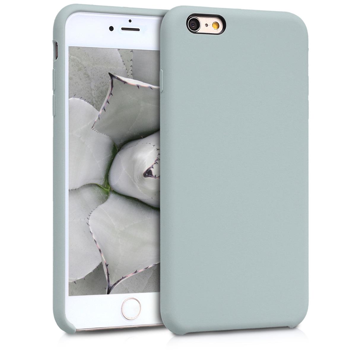 Kvalitní silikonové TPU pouzdro pro Apple iPhone 6 Plus / 6S - Světle šedá Matte