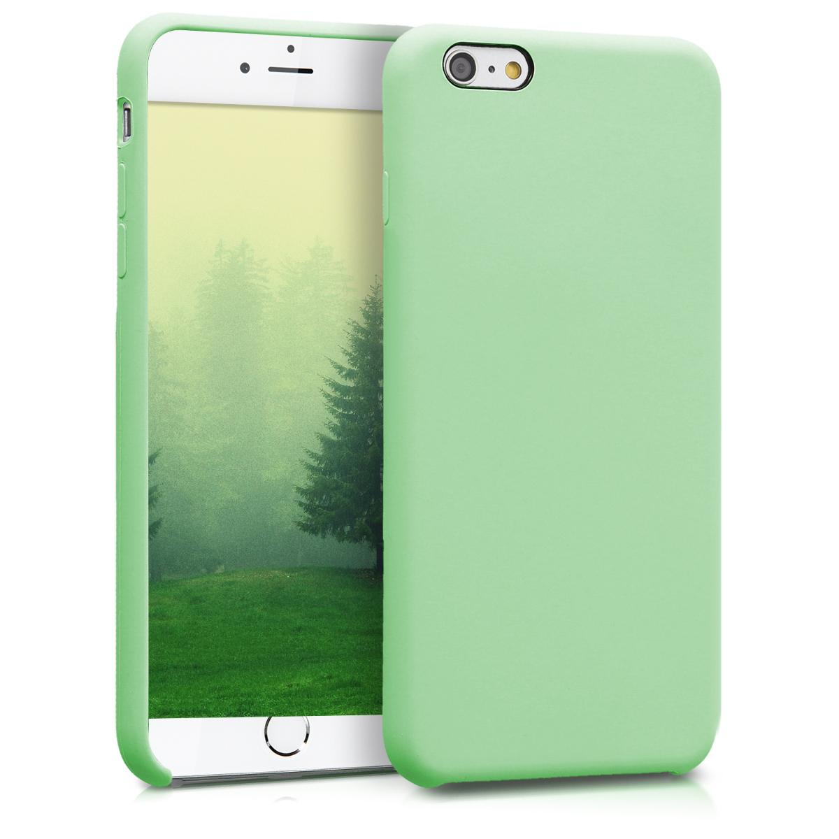 Kvalitní silikonové TPU pouzdro pro Apple iPhone 6 Plus / 6S - Světle zelená
