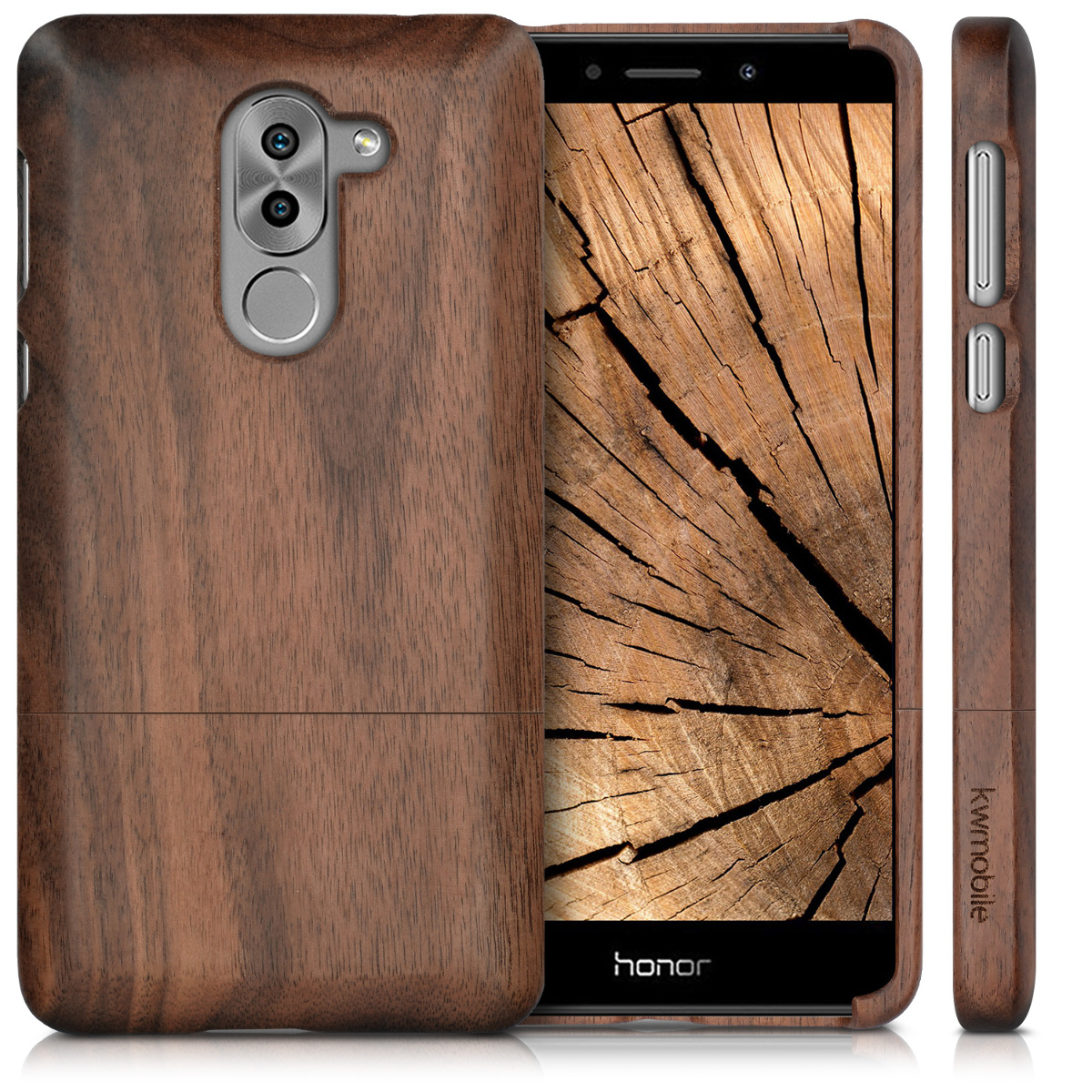 kwmobile-FUNDA-DE-MADERA-PARA-HUAWEI-HONOR-6X-GR5-2017-MATE-9-LITE-NATURAL