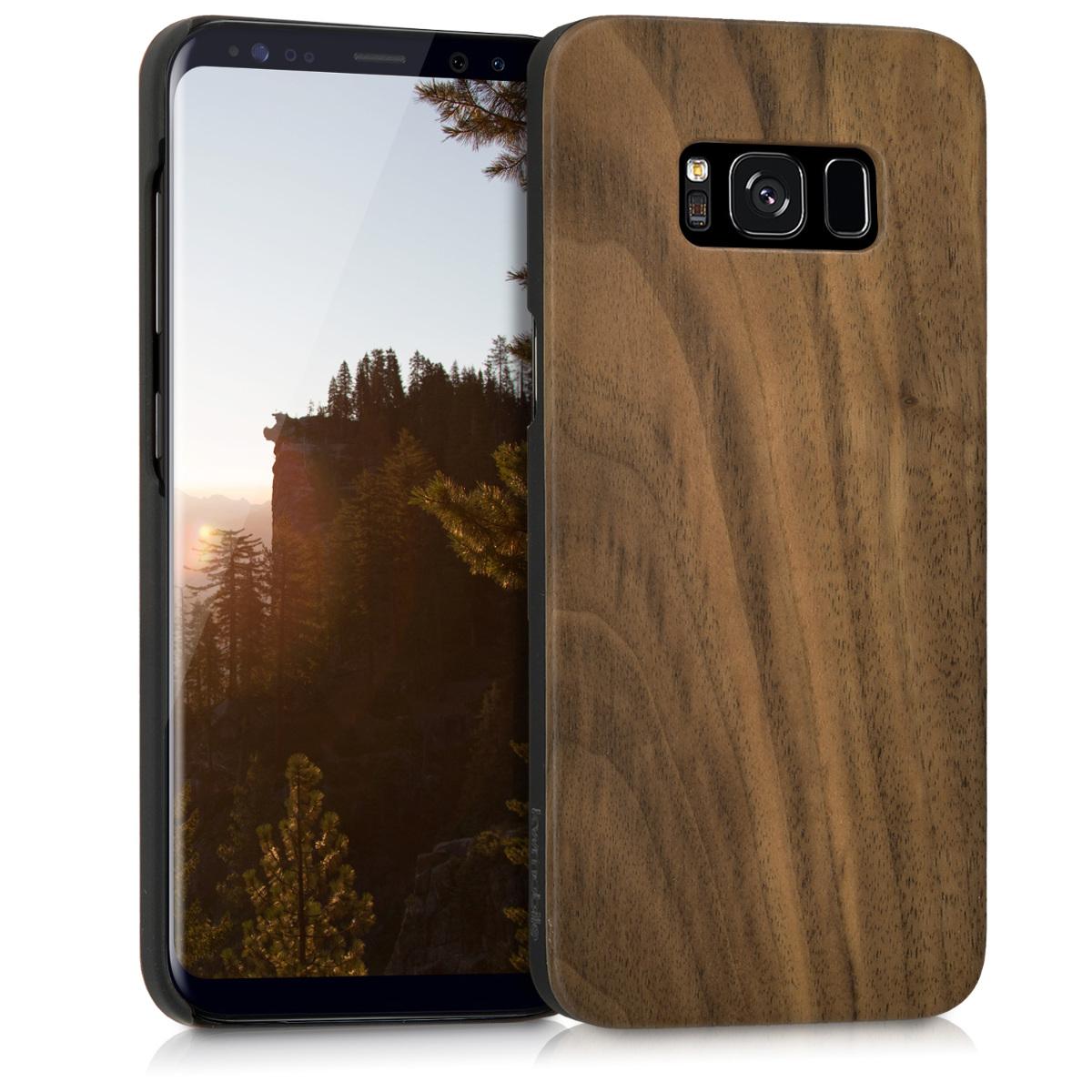 Dřevěné pouzdro pro Samsung Galaxy S8