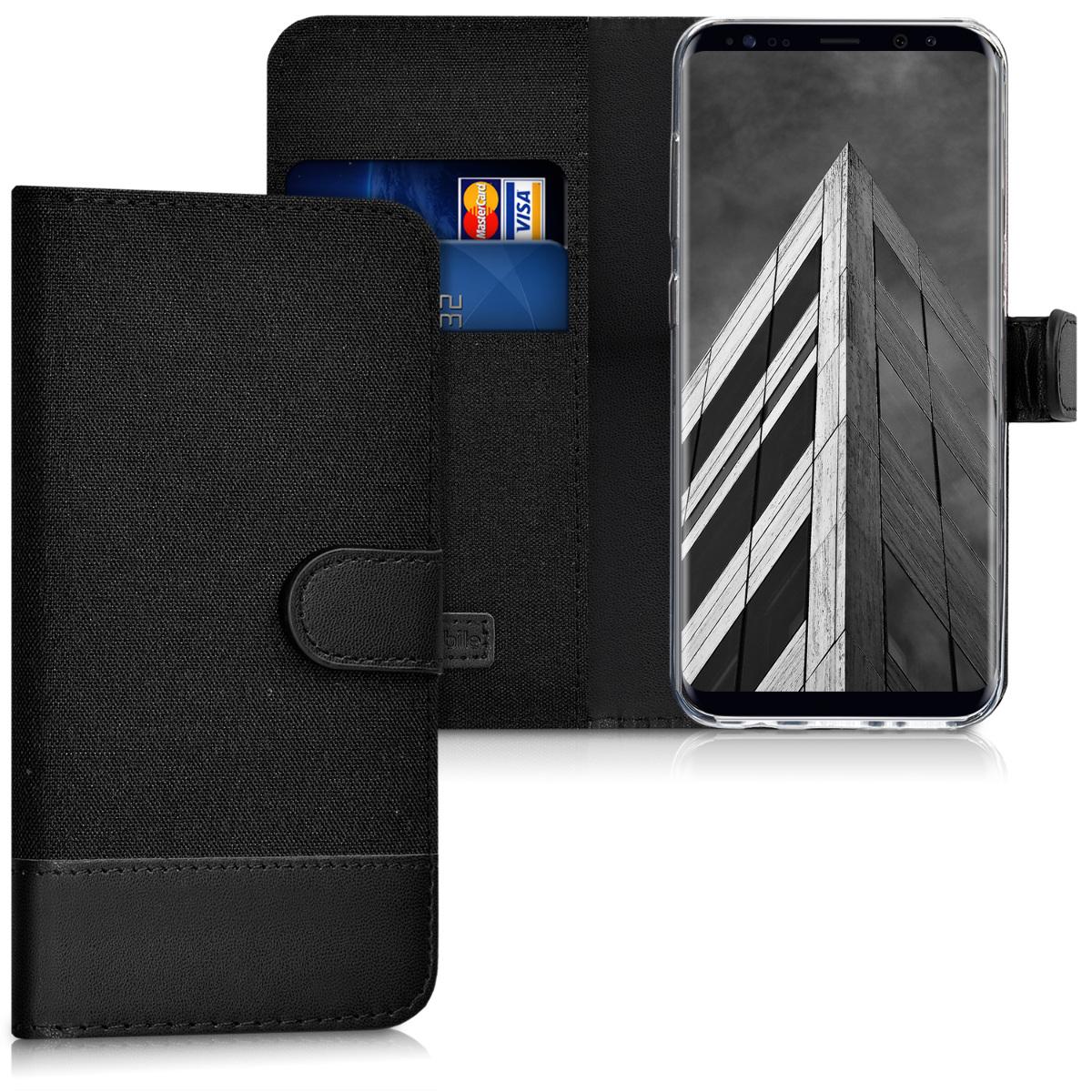 Fabricpouzdro pro Samsung S8 - Anthracite / černé