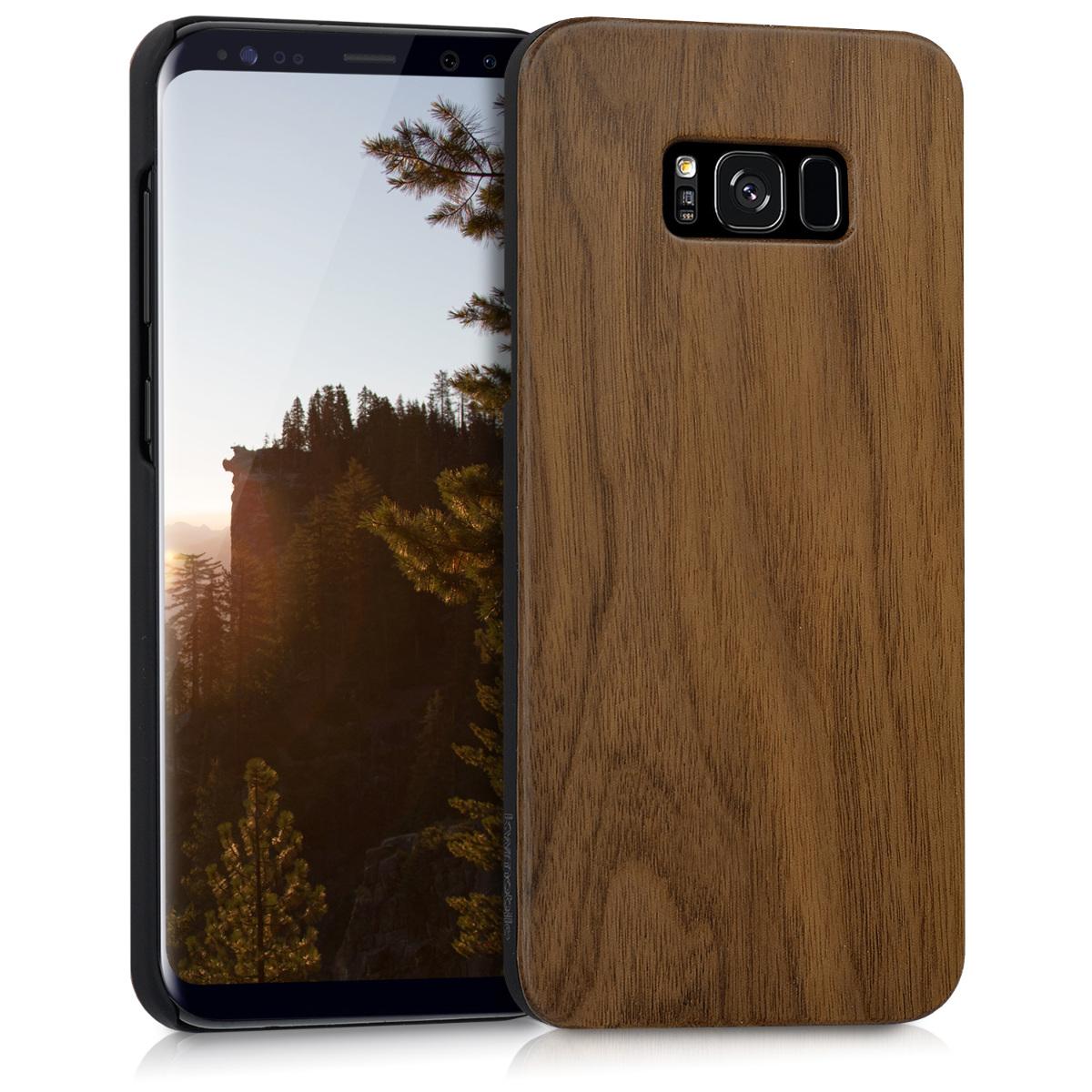 Dřevěné pouzdro / obal pro Samsung S8 Plus