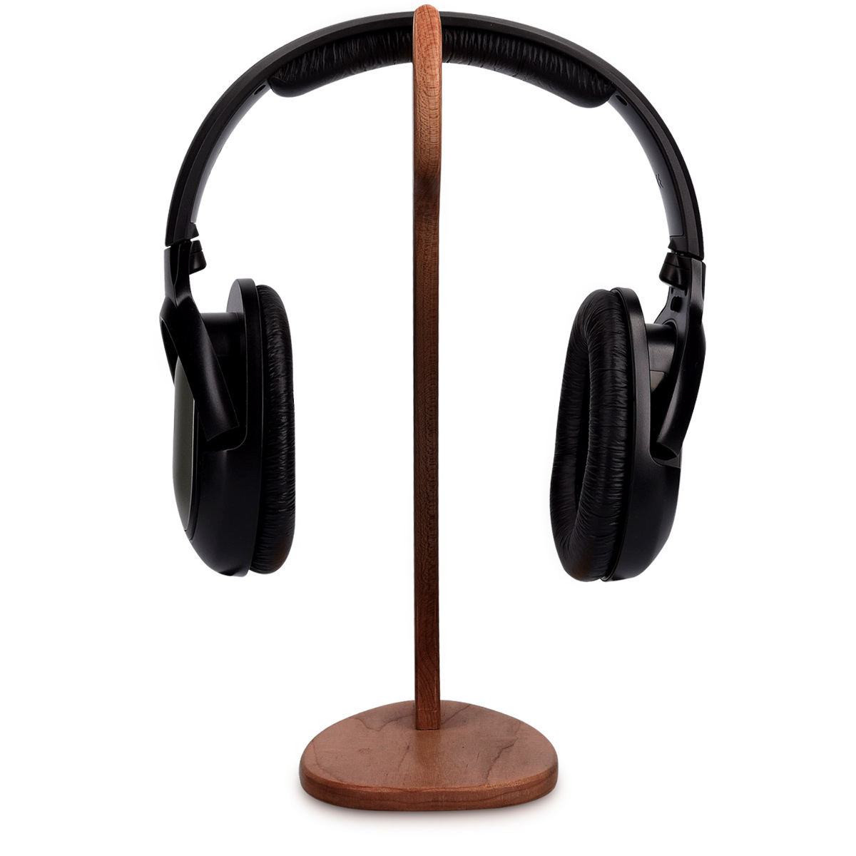 Wooden headphone holder gaming headset wood stand dj