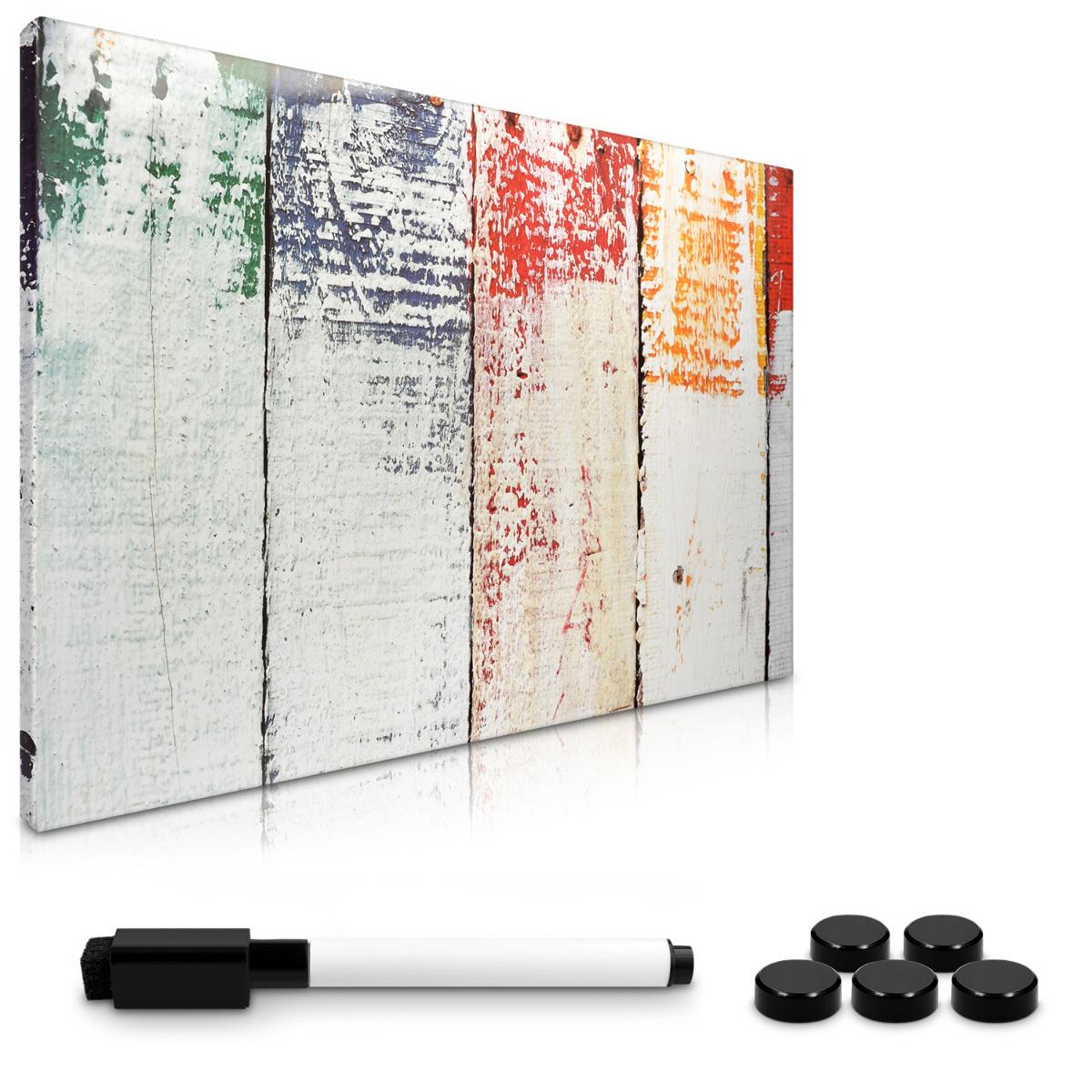 navaris memoboard magnetisch beschriftbar memotafel 40x60 cm messageboard board ebay. Black Bedroom Furniture Sets. Home Design Ideas
