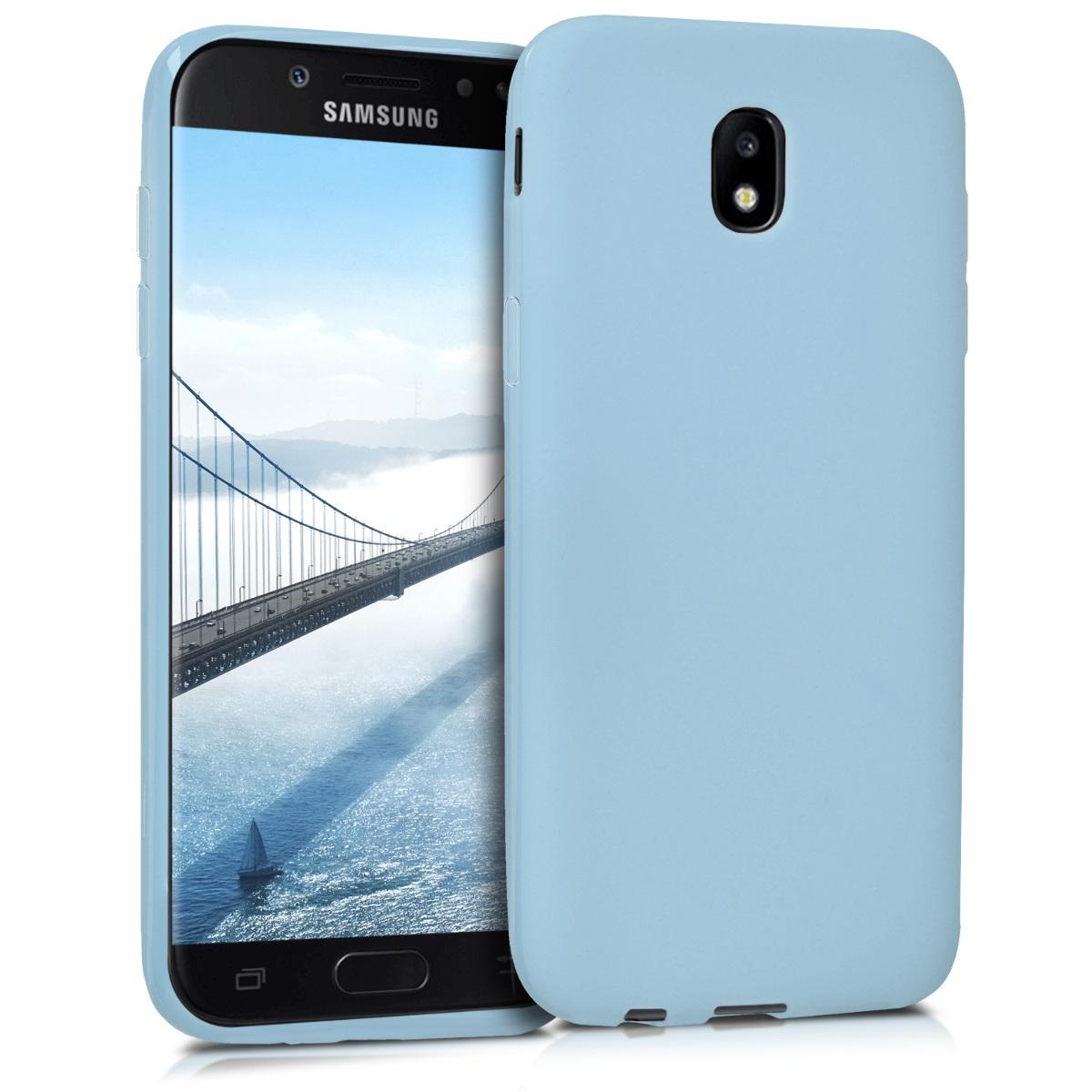 Kvalitní silikonové TPU pouzdro pro Samsung J5 (2017) DUOS - světle  modré matné