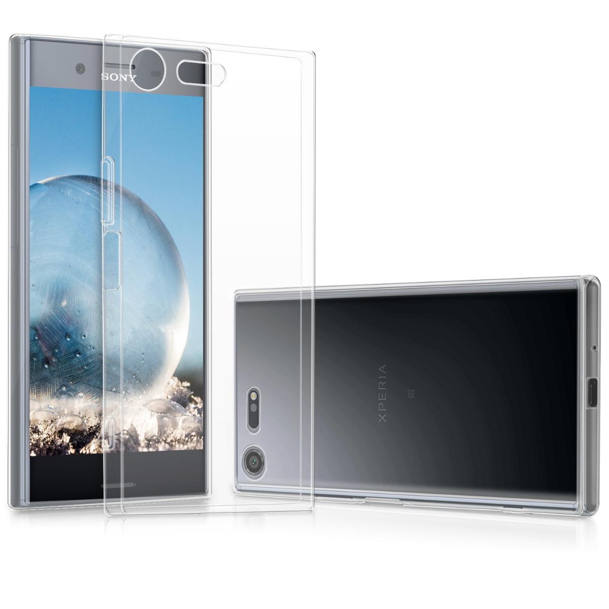 Kvalitní silikonové TPU pouzdro | obal pro Sony Xperia XZ Premium - průhledný