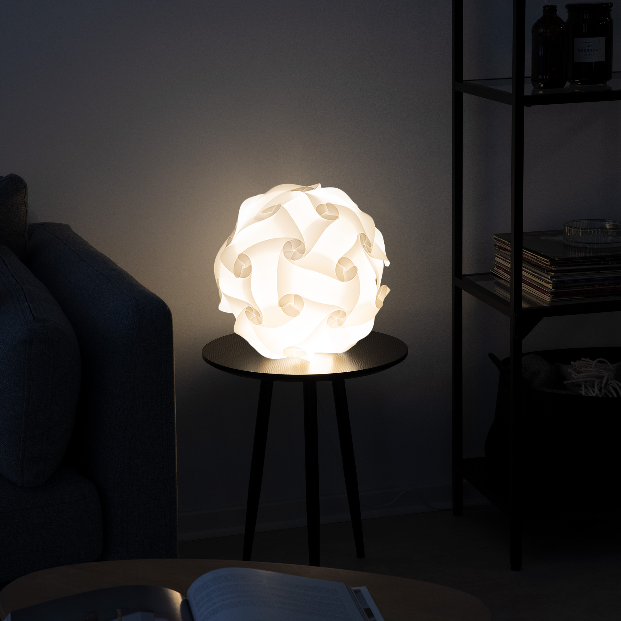gross_image_41359_7.jpg & kwmobile DIY Puzzle Lamp IQ Jigsaw Light with min 15 Different ...