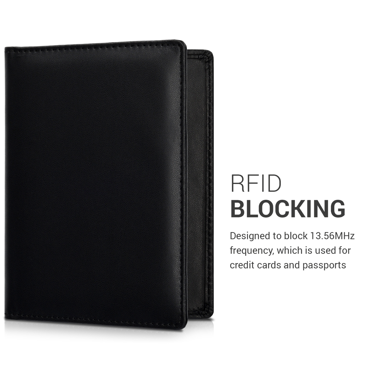 reisepass h lle rfid blocker kartenetui kunstleder. Black Bedroom Furniture Sets. Home Design Ideas