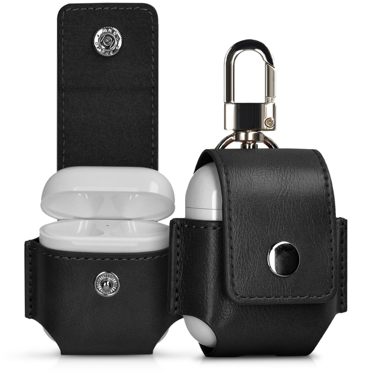 BAG FOR APPLE AIRPODS HEADPHONES ETUI CASE COVER IN BLACK PROTECTIVE CASE COVER - Berlin, Deutschland - BAG FOR APPLE AIRPODS HEADPHONES ETUI CASE COVER IN BLACK PROTECTIVE CASE COVER - Berlin, Deutschland