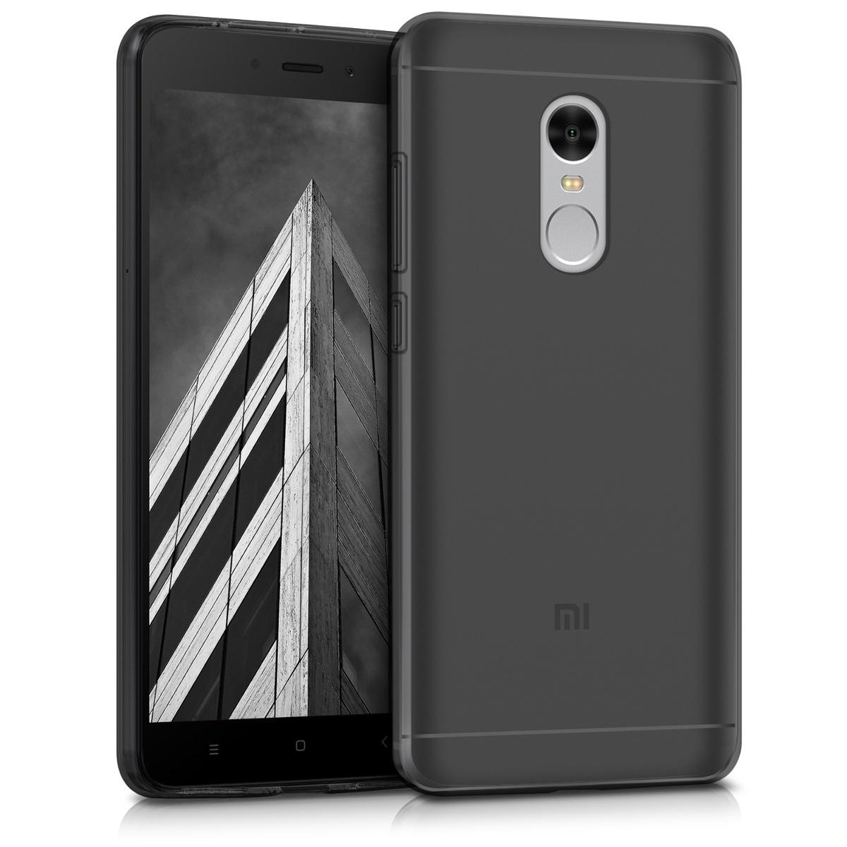 Kvalitní silikonové TPU pouzdro | obal pro Xiaomi Redmi Note 4 | Note 4X - černý