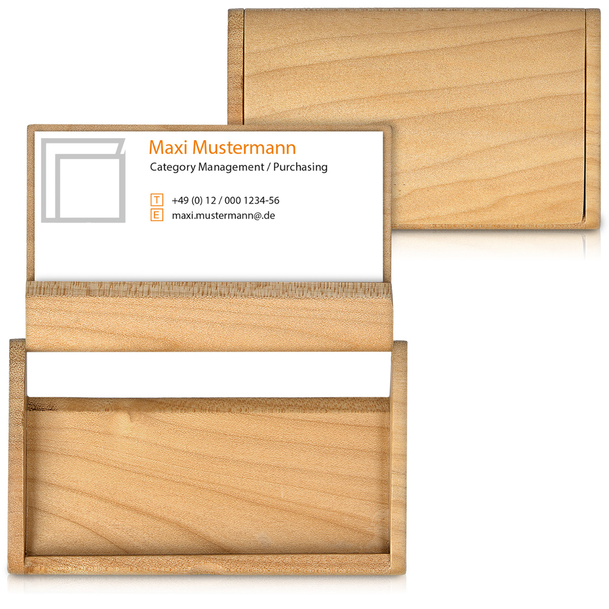 Wooden business card case holder 2 in 1 card box display stand wooden business card case holder 2 in 1 colourmoves